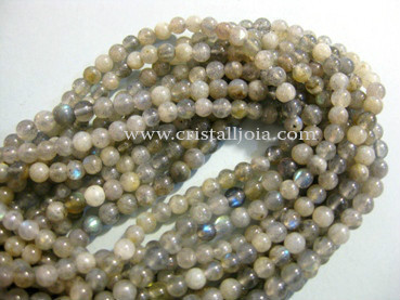 Labradorite 4mm Round Beads