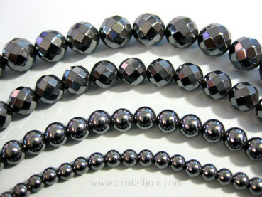 strand magnetic size color bright dark a hematite plated products non to silver beads