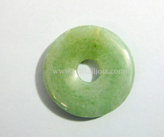 Green Aventurine Donut  Size 25Mm