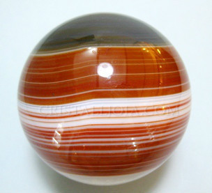 Red Agate Crystal Ball Ref:Alr48