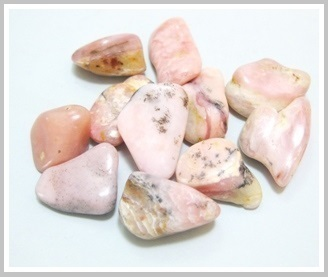 Pink Opal Tumbled Packet 200 gr
