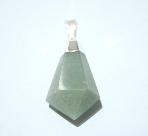 Green Aventurine Cponical Point pendant
