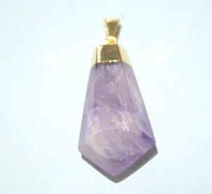 Amethyst Conical Points Pendant