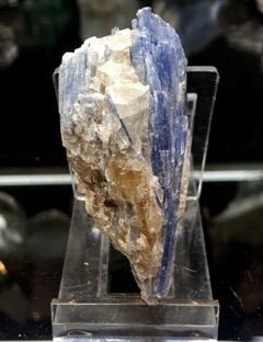 Kyanite Cluster with Quartz 003