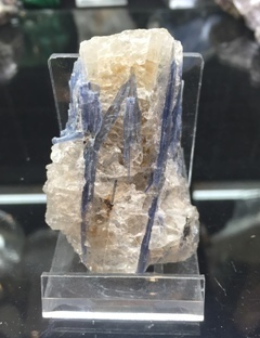 Kyanite Cluster with Quartz