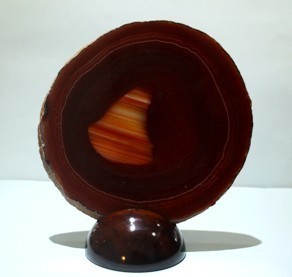 Red Agate Thín Slice