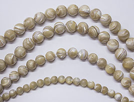 Dark Mother Of Pearl Beads