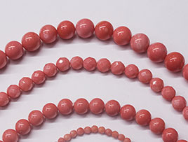 Pink Coral Beads