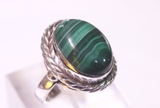 malachite ring ref: mqt063312
