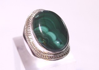 malachite ring ref: mqt064512