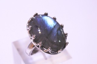 labradorite ring ref: lab022814