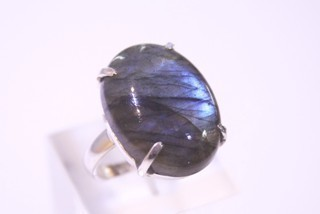 labradorite ring ref: lab023018