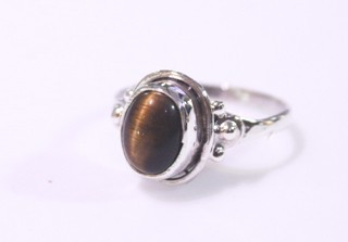 tiger eye ring ref: ojt0011610