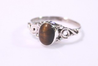tiger eye ring ref: ojt0011616