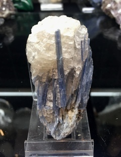 Kyanite Cluster with Quartz 006