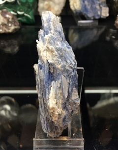 Kyanite Cluster with Quartz 007