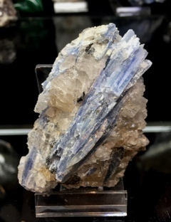 Kyanite Cluster with Quartz 009
