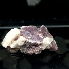 Mica Lepidolite with Quartz Raw 003