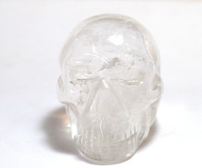 Quartz Crystal Rock Large Skull 02