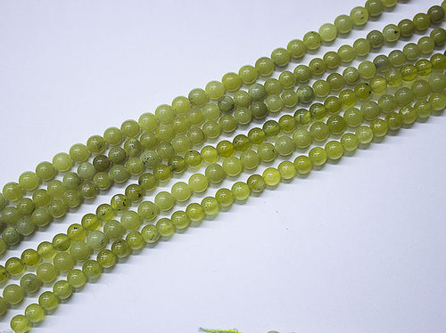 Jade 6 mm Ball Beads