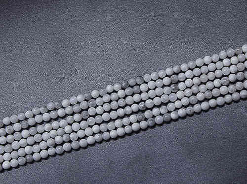 Magnesite 3mm Ball Beads
