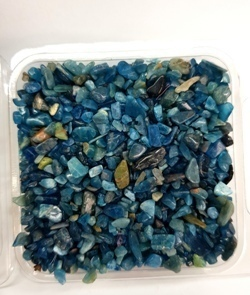 Blue Apatite Mini Tumbled E