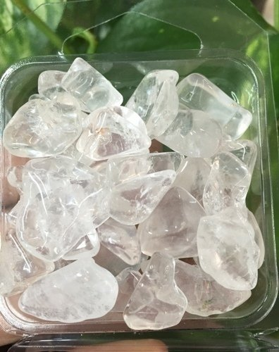 Quartz Rock Crystal Mini Tumbled 3