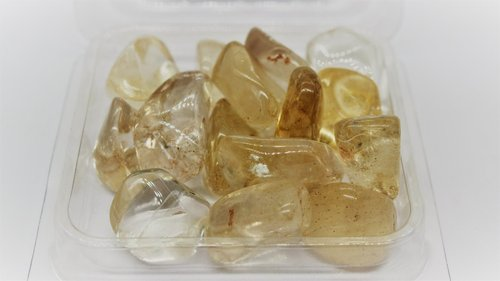 Citrined Quartz Mini Tumbled 4