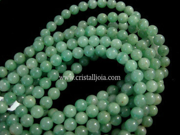 green aventurine 6mm ball beads strands