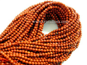 red jasper 2mm ball beads strands