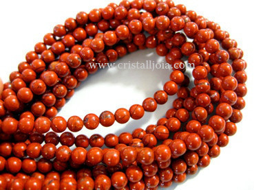 red jasper 4mm ball beads strands