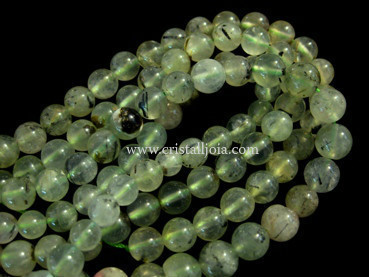prehnite 8mm ball beads strands