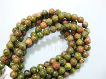 unakita 6mm ball beads strands