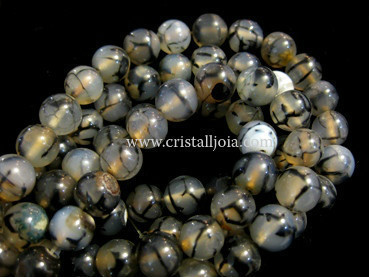spider agate 10mm ball beads strands