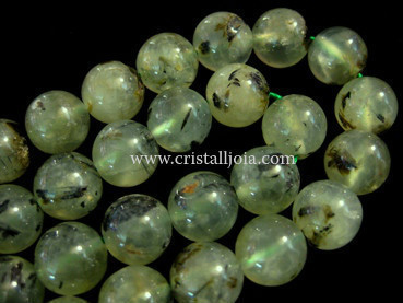 prehnite 12mm ball beads strands