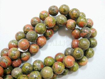 unakita 10mm ball beads strands