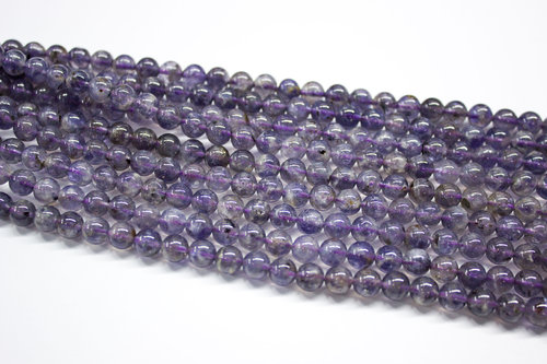 Iolite 4mm ball beads strands