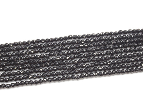 spinel 3mm faceted ball strands