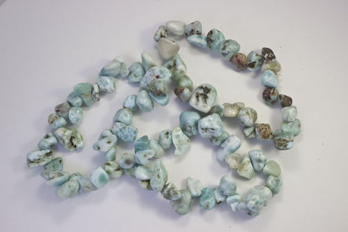 Larimar bracelet leaves