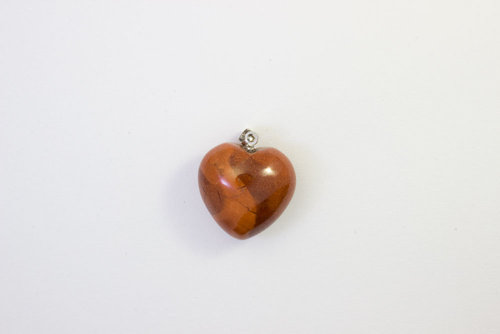Red Jasper pendant necklace 20mm