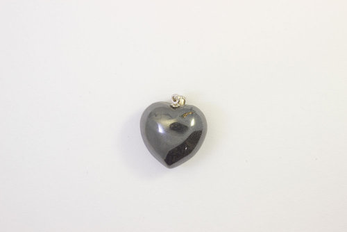 Hematite pendant necklace 20mm