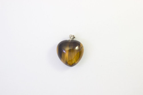 Tiger'S Eye pendant necklace 20mm