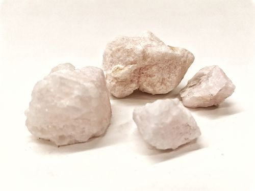 Blister mineral raw 200gr pink calcite