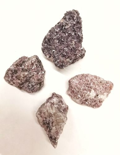 Blister mineral raw 200gr lepidolite cookie