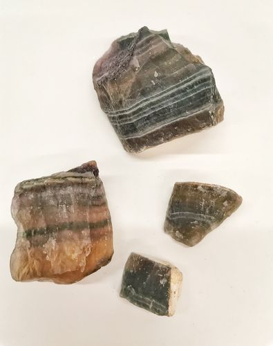 Packet mineral raw 500gr fluorite multicolor