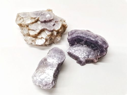 Packet mineral raw 500gr coconut lepidolite