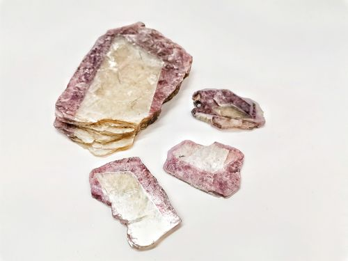 Packet mineral raw 500gr lepidolite finestra