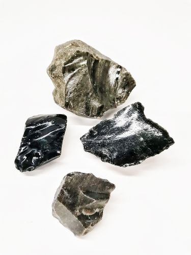 Packet mineral raw 500gr m golden obsidian