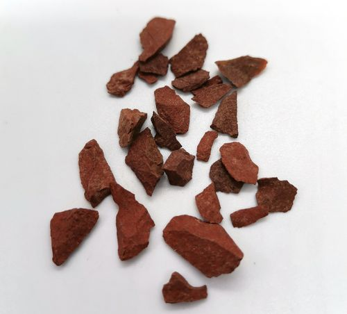 Blister mineral raw 60gr p size 2 red jasper
